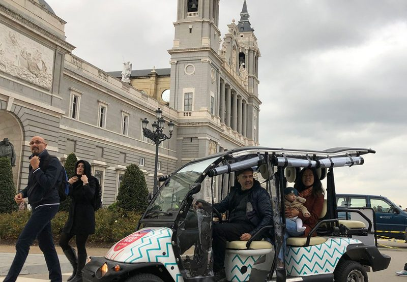 Buggy Tour Catedral Almudena