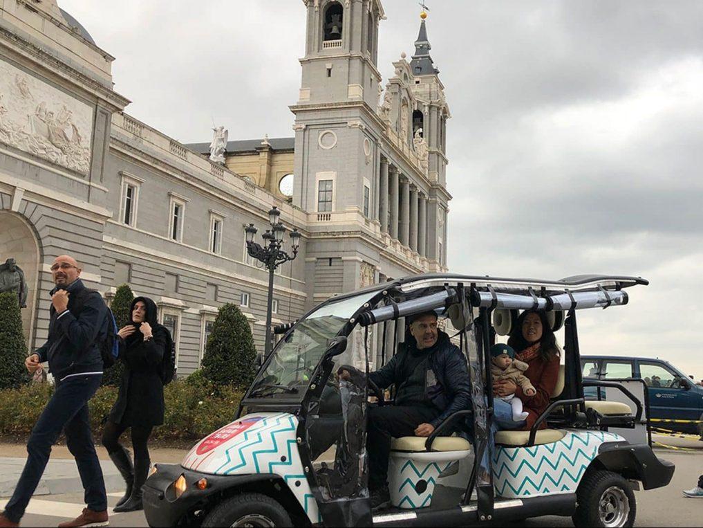 Buggy Tour Catedral Almudena