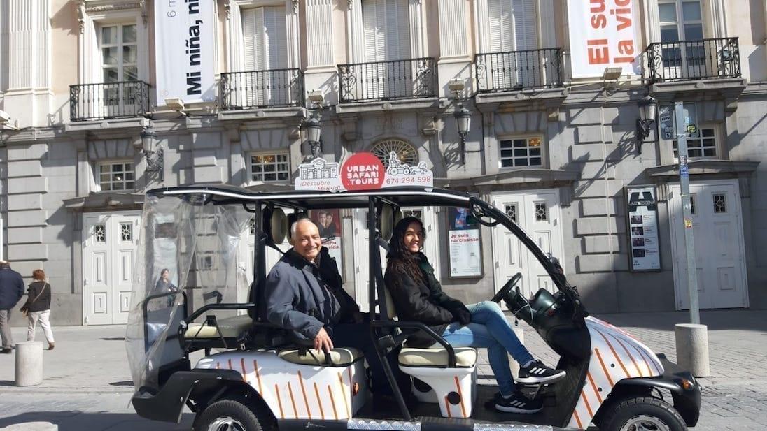 Descubriendo los rincones de Madrid en nuestros Buggys