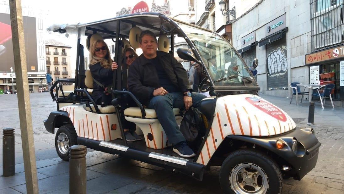 Disfrutando del Tour Madrid 3h Buggy