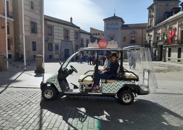 Buggy Plaza de la Villa