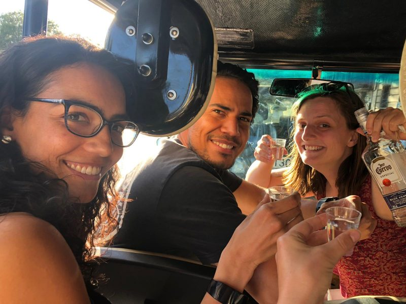 Buggy tour with shots