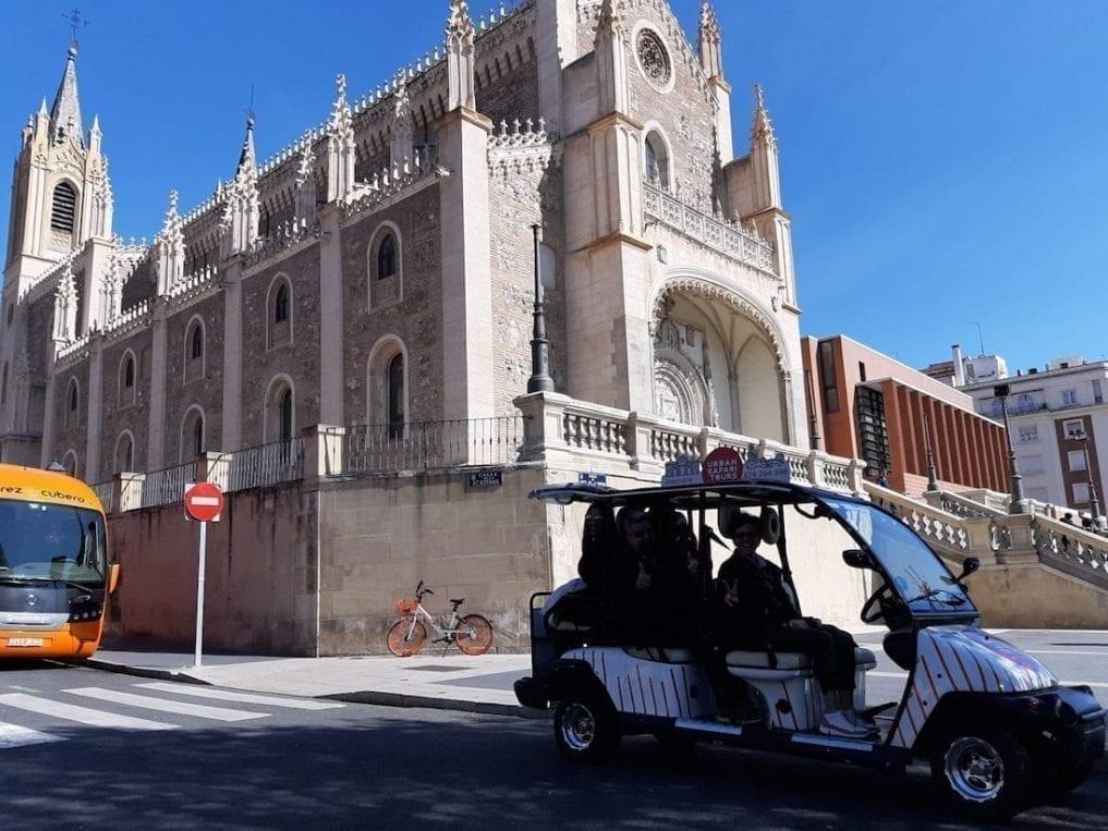 Tour Madrid 3h en Buggy