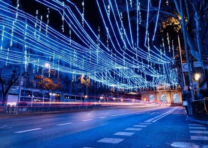 Iluminación de la Calle Alcala