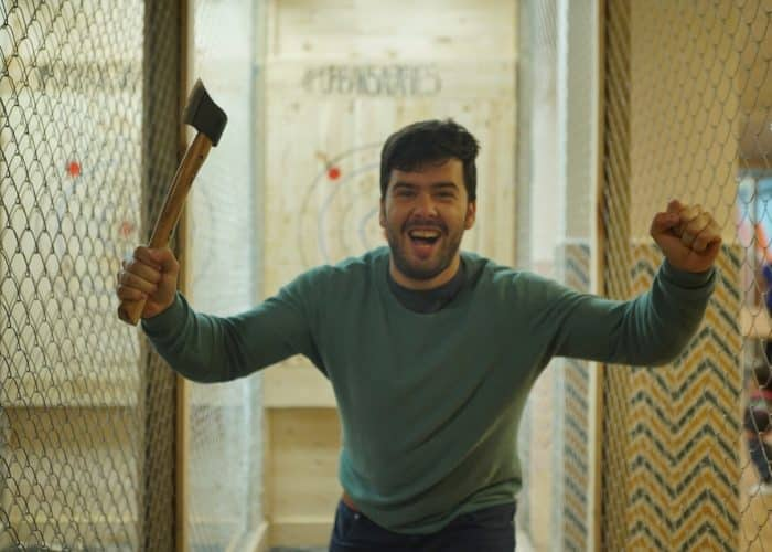 Axe Throwing Madrid 1 hour session