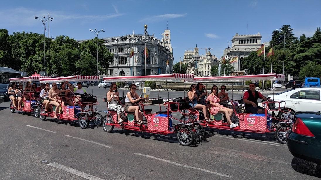 Beer bike por la ciudad