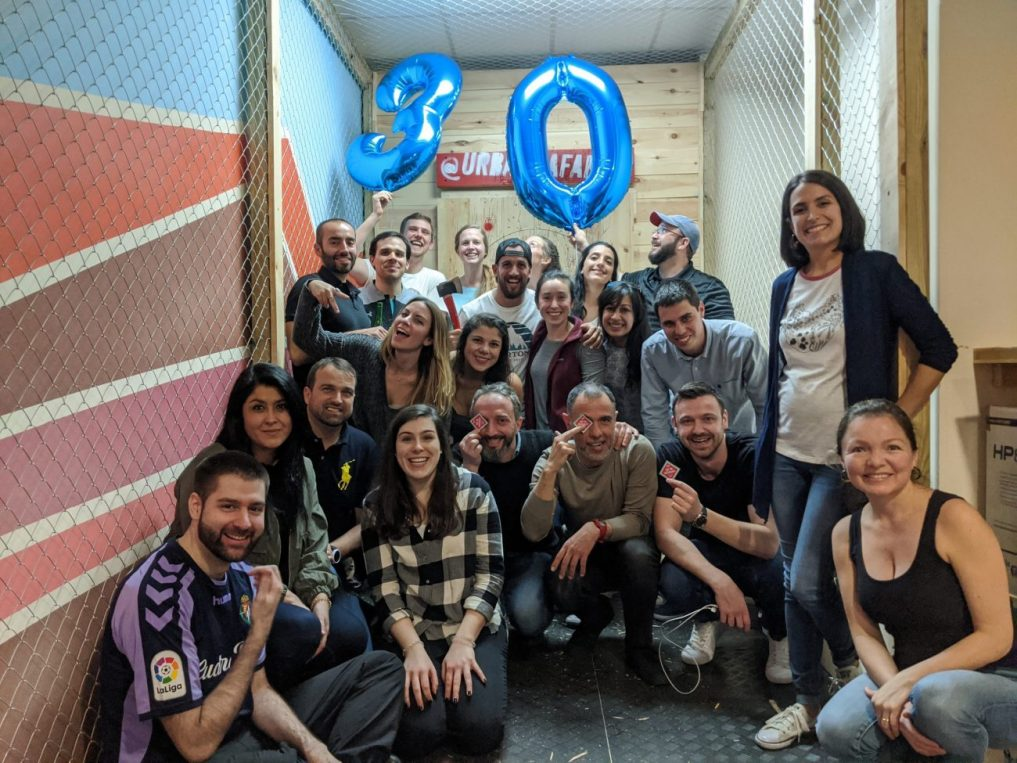Cumpleaños Tiro de Hacha Madrid