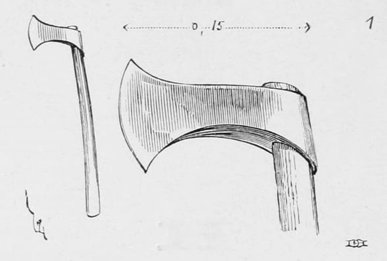 One of the first axes used in Axe Throwing