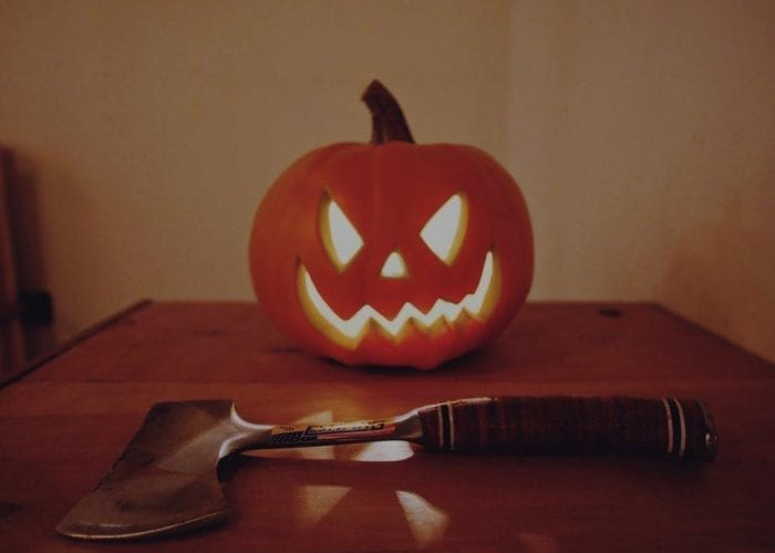 Tiro de Hacha Halloween