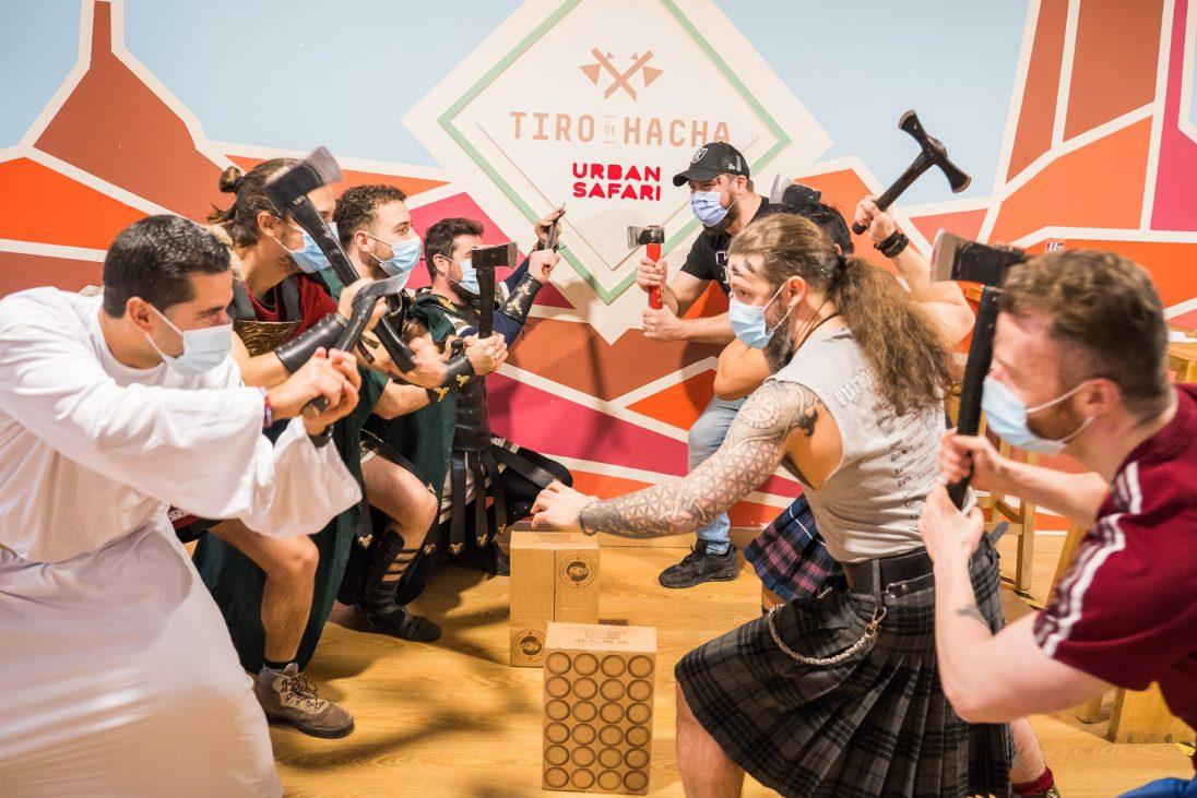 Foto del torneo Vikingos contra indios
