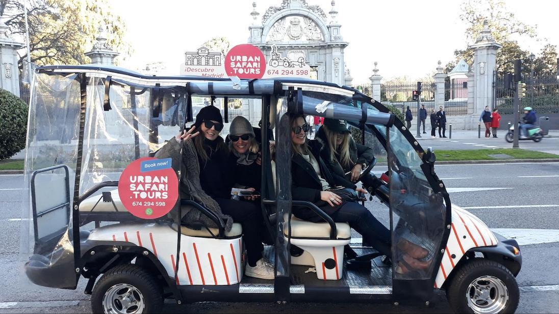 Visita Guiada 1.h Madrid en buggy