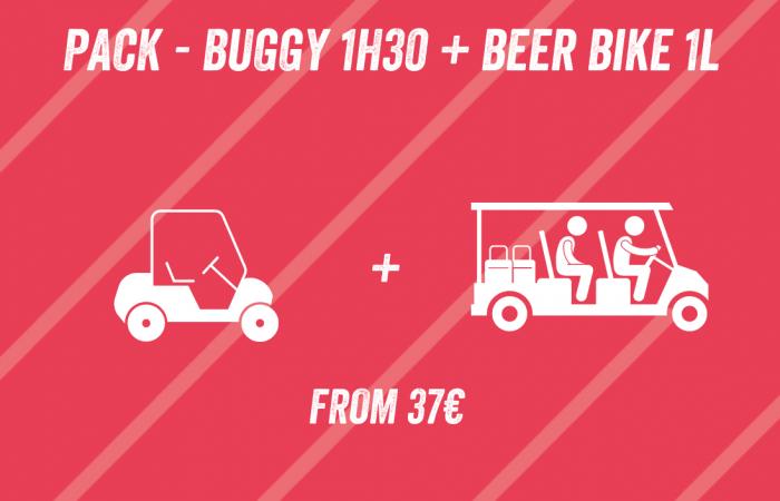 Pack Buggy Beer Bike