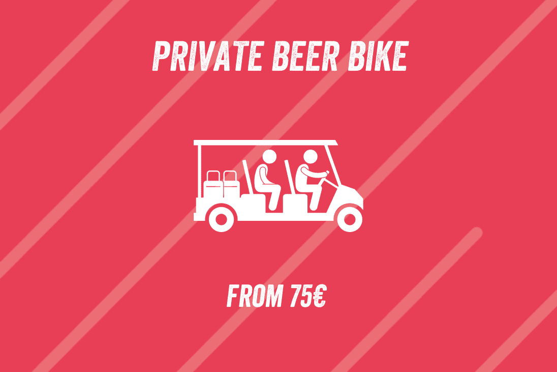 Private Beer Bike