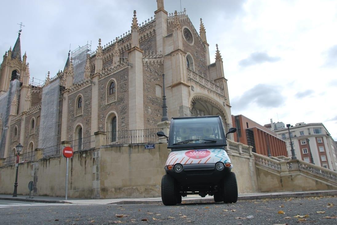 Uno de nuestros vehículos Maxi Buggy