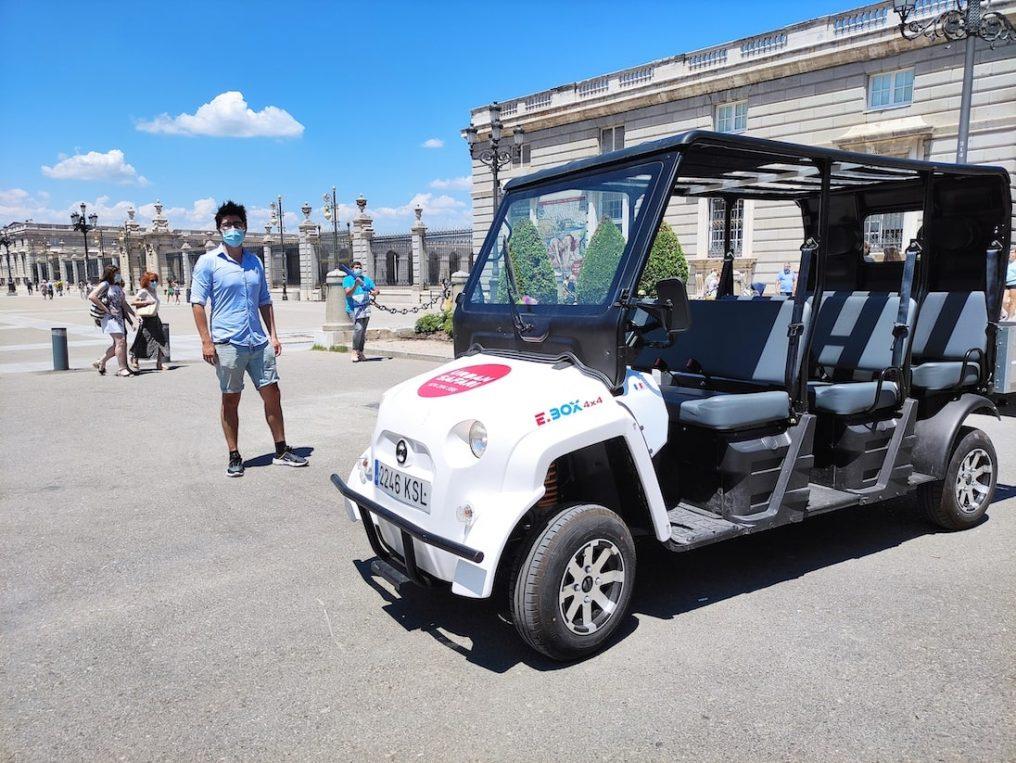 City Tour Madrid Maxi Buggy 1h